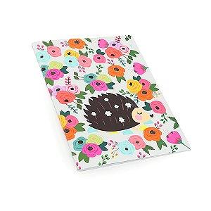 Planner Mensal Porco Espinho Floral