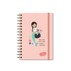 Caderno Pontilhado Sereias
