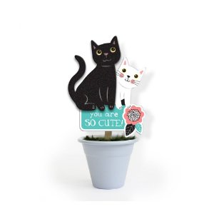 Mini Vaso Gatos