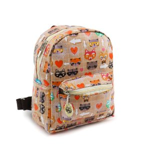 Mini Mochila Estampada Guaxinim Craft