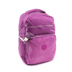 Mochila para Notebook Crinkle Roxa