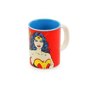 Mini Caneca de Porcelana DC Mulher Maravilha Colorida