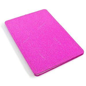 Capa e Contracapa Planner e Caderno Inteligente com Glitter Médio Pink