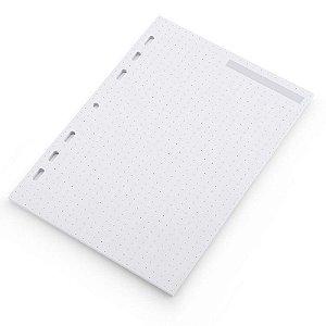 Rerfil Caderno Ultra Pontilhado Folhas Brancas