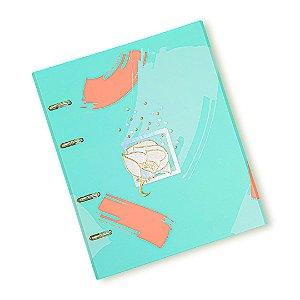 Caderno Fichário La Bela Verde Ultra