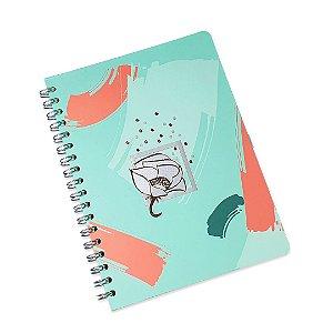 Caderno Wire-o La Bela Verde Ultra