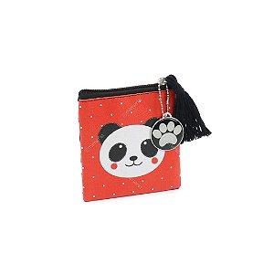 Porta Moedas Flat Panda