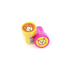 Kit Carimbos Stamp Pets com 2 Unidades
