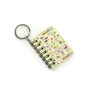 Mini Notebook Kawaii Bege