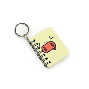 Mini Notebook Kawaii Vaquinha