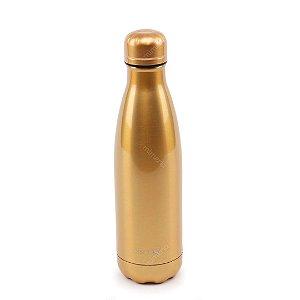 Garrafa Térmica de Inox Parede Dupla 500 ml Grey Gold