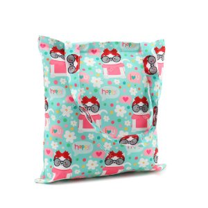Bolsa Sacola Fun Happy Gato