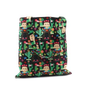 Bolsa Sacola Fun Frida Color