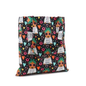 Bolsa Sacola Fun Happy Dog Caramelo