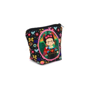 Necessaire com Base Frida Color Pequena