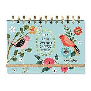 Planner Diário Pássaros