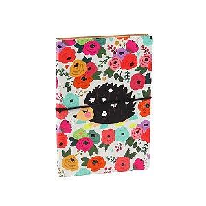 Caderno Duplo Floral