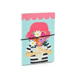 Caderno Duplo Happy Buquê