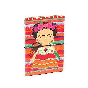 Caderno Duplo Frida Colores