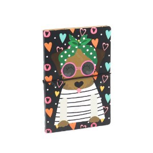 Caderno Duplo Happy Dog Caramelo