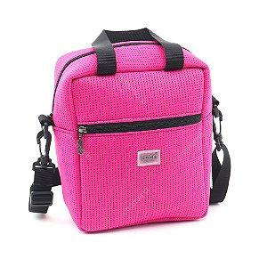 Bolsa Térmica Média de Tecido Esportivo Pink