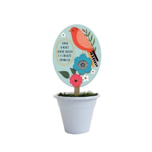Mini Vaso Pássaros