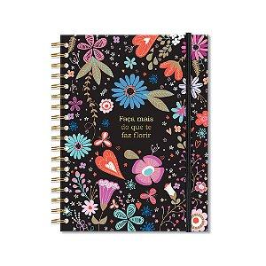 Caderno Colegial 200 Folhas Fiore