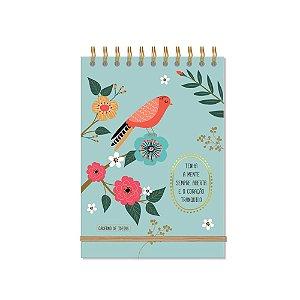 Caderno de Ideias Pássaros