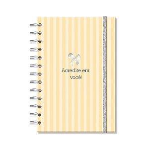 Caderno Médio Acredite