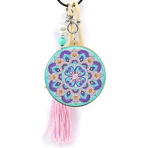 Chaveiro Resinado Mandala Baby Color