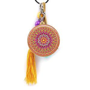 Chaveiro Resinado Mandala Rozz