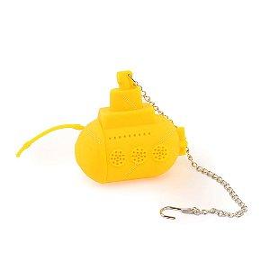 Infusor de Chá Submarino Amarelo