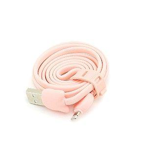 Cabo USB Gatinho Rosa