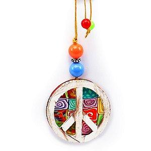 Chaveiro Paz e Amor Médio