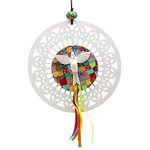 Mandala Rendada Divino Espírito Santo Grande