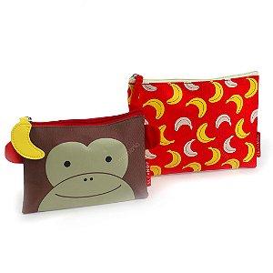 Kit Necessaire Zoo Macaco Skip Hop