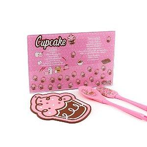 Kit de Cozinha Cupcake 4 Peças