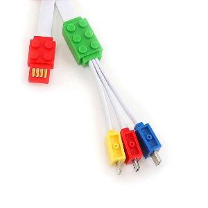 Cabo USB Colorido