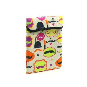 Case para Tablet e IPad Mustache