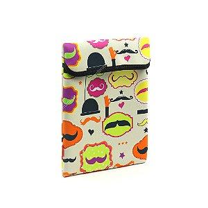 Case para Tablet e IPad Mustache