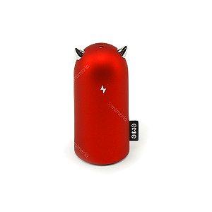 Carregador Portátil Monster Vermelho