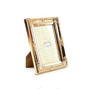 Porta Retrato Vintage Cobre Metalizado 10x15