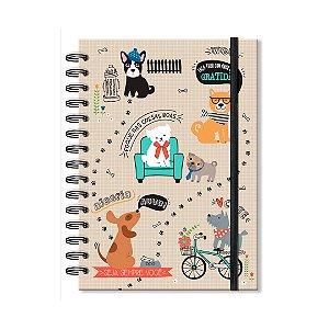 Caderno Clássico Cachorro Amigo