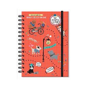 Caderno Pontilhado Cachorro Amigo