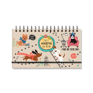 Agenda 2021 Semanal Cachorro Amigo Mini