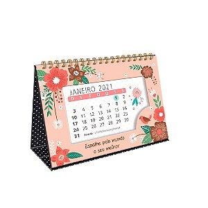 Calendário de Mesa 2021 Jardim