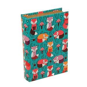 Livro Caixa Raposa Verde