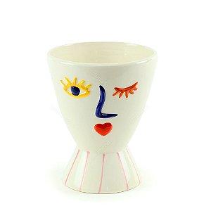 Vaso de Cerâmica Corine