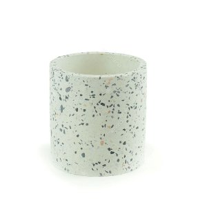 Cachepô de Cerâmica Terrazo Grande