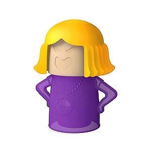Desodorizador Limpador de Micro-Ondas Angry Mama Roxo